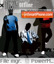 3boy tema screenshot