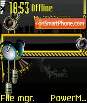 Yellow Music 01 es el tema de pantalla
