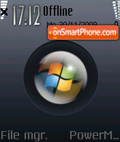 Black Vista 06 theme screenshot
