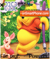 Pooh and Piglet 04 theme screenshot