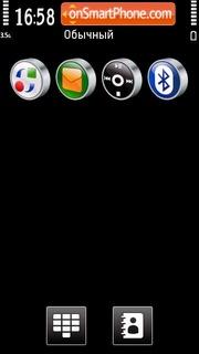 Black 14 tema screenshot