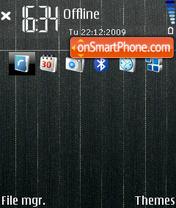 Скриншот темы Black 15