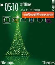 Christmas tree fp1 tema screenshot