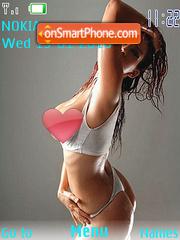 Sexygirl tema screenshot