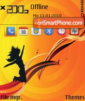 Dancer v2 es el tema de pantalla