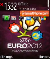 EURO 2012 01 theme screenshot