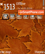 Autumn 06 theme screenshot