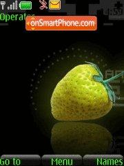 Yellow Strawberry es el tema de pantalla