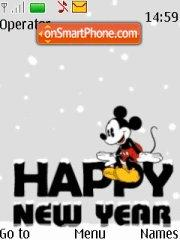 Happy New Year 2011 tema screenshot