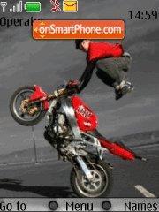Biker theme screenshot