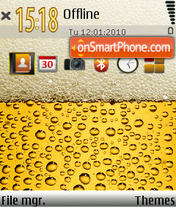 Beer 05 theme screenshot