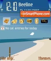 Bahamas theme screenshot