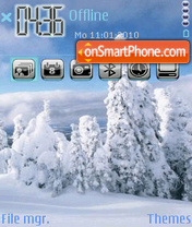 WinteR 09 tema screenshot