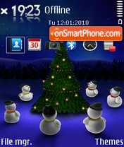 Merry Christmas 19 tema screenshot