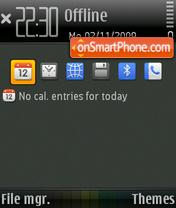 Q Black es el tema de pantalla