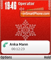 Red and White tema screenshot