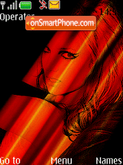 Britney Xpress Red Music Theme-Screenshot
