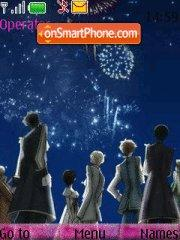 Ouran Hight School Host Club theme screenshot
