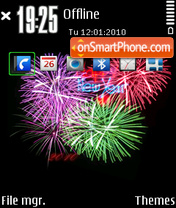 Happy New Year FP1 By e61i es el tema de pantalla