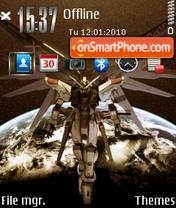 Gundam 06 es el tema de pantalla