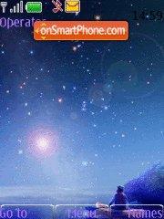 Скриншот темы Night Sky