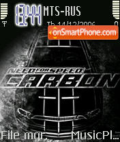 Need For Speed Carbon 01 es el tema de pantalla
