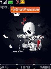 Skeleton tema screenshot