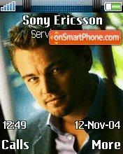 Leonardo DiCaprio theme screenshot