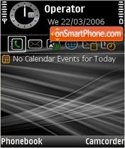 Black and white theme screenshot