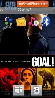 Goal I The Dream Begin tema screenshot