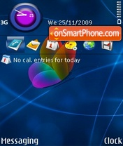 MSN butterfly theme screenshot