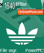 Adidas Retro theme screenshot