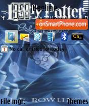Harry Potter and Order of the Phoenix es el tema de pantalla