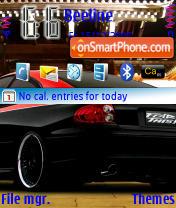 Скриншот темы Car 01