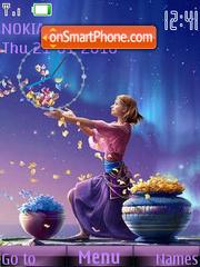 Flower Dance (by Kagaya) theme screenshot