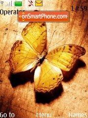 Скриншот темы Beautiful Butterfly 01