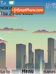 City 04 theme screenshot