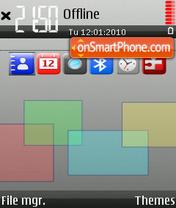 Cubo theme screenshot