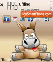 Emule 01 theme screenshot