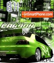 Nfs Carbon 01 es el tema de pantalla