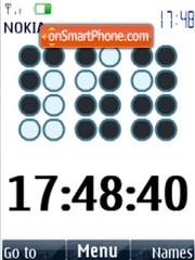 Clock, flash animation theme screenshot