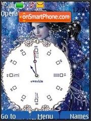 Snow Queen theme screenshot