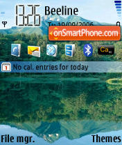 Nature 01 theme screenshot