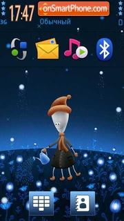 Star Field theme screenshot