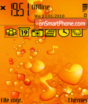 Fanta2 yI 240 theme screenshot
