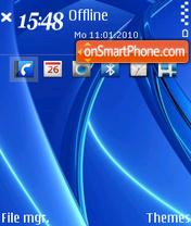 Blue 13 theme screenshot