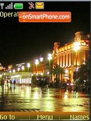 Night Riviera theme screenshot
