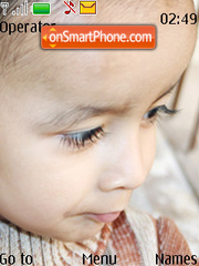 Eraash Cutest Baby theme screenshot