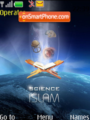 Capture d'écran Islam & Science thème