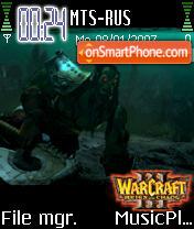 Warcraft 3 es el tema de pantalla